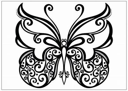 Coloring Butterfly Pages Spiral Printable Lollipop Morpho