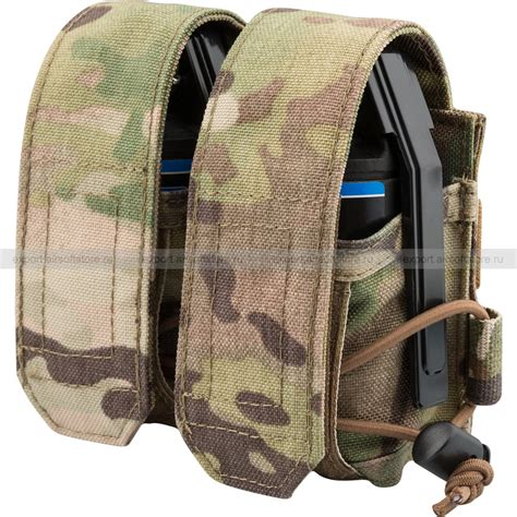 double hand grenade pouch universal type wartech