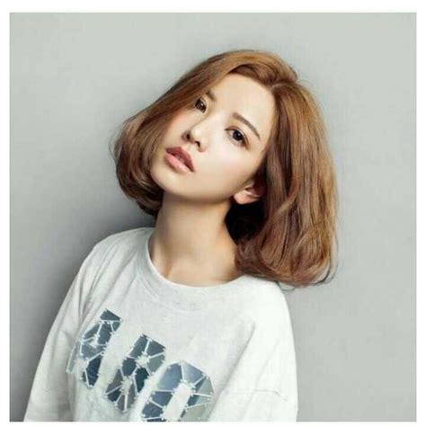 korean hairstyle female  shapely korean haircuts