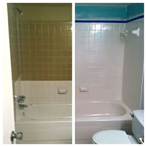 Shower Reglazing - diy tub and tile reglazing how to successfully do it
