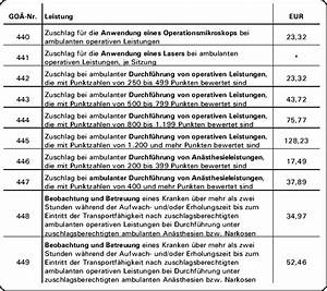 Goä Abrechnung Lernen : leserforum sie fragen wir antworten ~ Themetempest.com Abrechnung