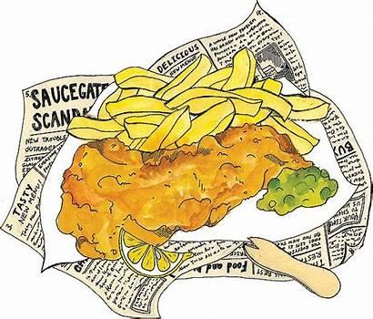 Chips Fish Edinburgh Supper Google England Restaurant