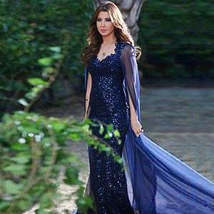 sexy long mermaid evening dresses 2016 formal evening With robe cape longue