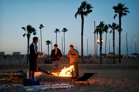 Assembly Oks Bill To Allow Calif Beach Bonfires  893 Kpcc