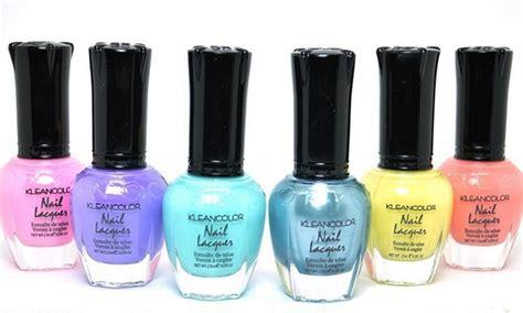 Kleancolor Pastel Nail Polish Set (6-piece)