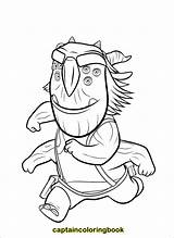 Coloring Trollhunters Trollhunter Pdf sketch template