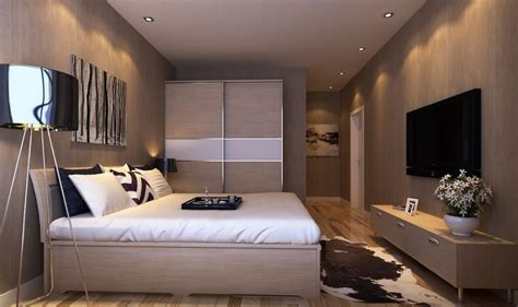 Under Kitchen Cabinet Lighting Ideas - master bedroom interior design with tv wall and wardrobe