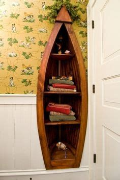 Boat Bookshelf Nz by Handcrafted 4 Foot Wood Row Boat Bookcase Shelf Shelves