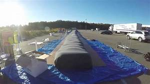 assembling the world39s largest bean bag youtube With biggest bean bag chair in the world