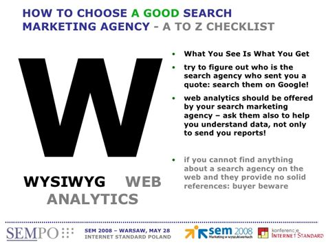 Search Marketing Agency - how to choose a search marketing agency massimo burgio sempo