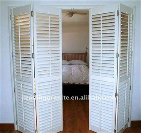 bifold shutter door buy bifold shutter door wooden