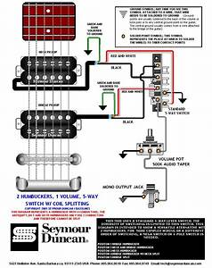Wiring Diagram 2 Humbucker 5 Way Switch