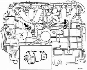 Where Is The Knock Sensor Located On My 1997 Xj6 Jaguar