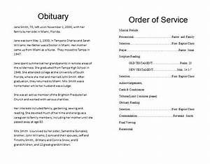 pin obituary program samples on pinterest With obituary outline template