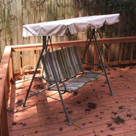 Kmart Chairs With Canopy by Kmart Martha Stewart Swing Rus485a 2007 Garden Winds