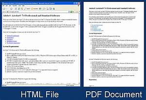 Batch html to pdf converter convert html files or for Pdf document in html