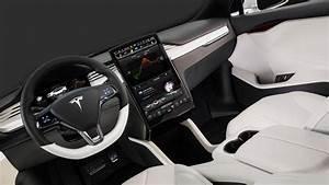 New 2018 Tesla Model X Interior Design