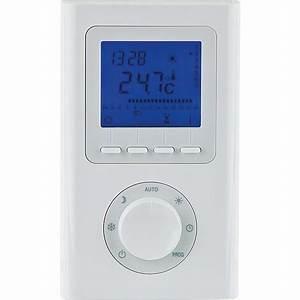 Radiateur Electrique Avec Thermostat : thermostat sans fil radiateur electrique thermostat sans ~ Edinachiropracticcenter.com Idées de Décoration