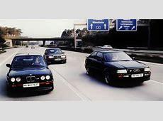 Comparison Test BMW E30 M3 Sport Evolution vs Mercedes