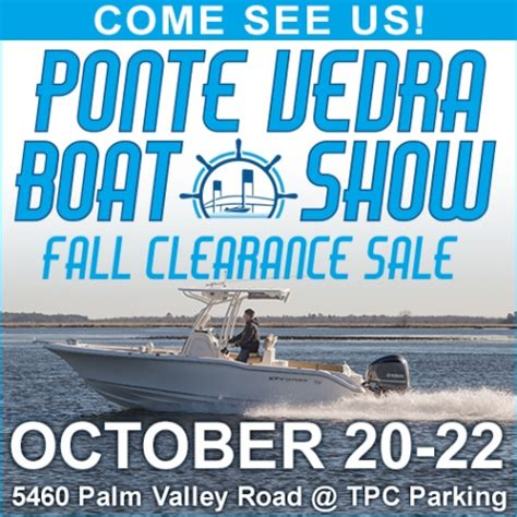 Jacksonville Boat Show 2017 by Ponte Vedra Boat Show 187 News 187 Sadler Point Marina