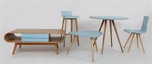 Table Basse Scandinave Bleu : table basse scandinave bois naturel bleu baltik miliboo ~ Teatrodelosmanantiales.com Idées de Décoration