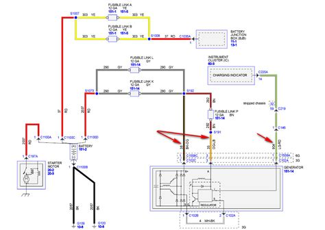 2008 Ford Econoline Wiring Diagram by I A 2008 Ford E350 It Stopped Charging Verified