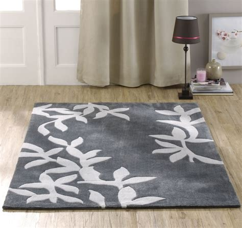 Tapis De Salon Gris Foncé by Tapis De Salon