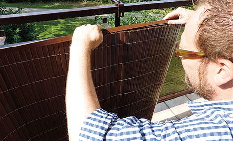 BalkonSichtschutz  Sichtschutz selbstde