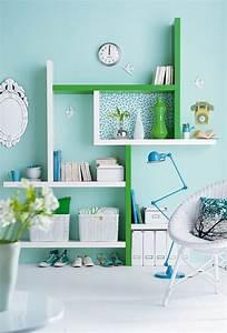 Moderne Schreibtische : home office in pastellfarben ein hei er trend im ~ Pilothousefishingboats.com Haus und Dekorationen