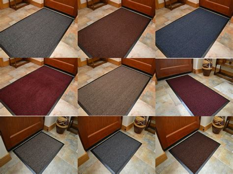 Entrance Rugs by Large Size Rubber Door Entrance Barrier Mat Mats Heavy