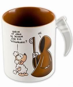 Nicht Lustig Tasse : nichtlustig sensen tasse tod kaffeetasse kaffeebecher ~ Watch28wear.com Haus und Dekorationen