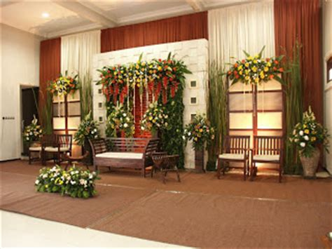 tegal dekorasi pernikahan pengantin wedding november