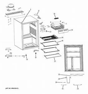 Assembly View For Refrigerator Parts