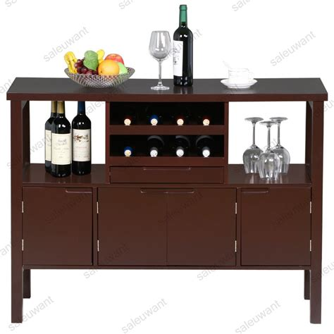 kitchen table wine storage dining room sideboard display table unit kitchen buffet