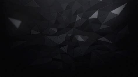 Abstract Black Triangle Background by Minimalism Triangle Black Abstract Wallpapers Hd