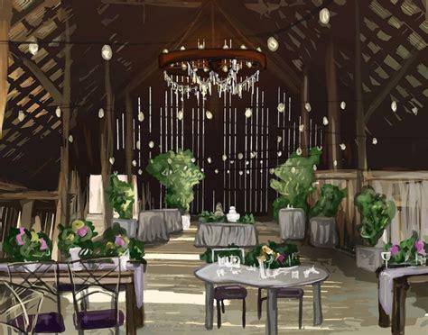 stunning rustic barn wedding venues  washington state