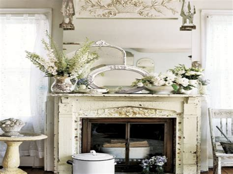Shabby Chic Fireplace Mantel Shabby Chic Fireplace For