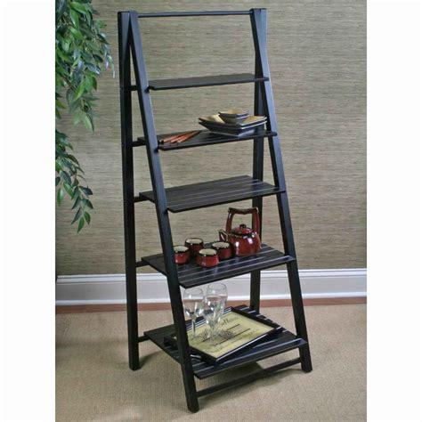 Ladder Bookcase Shelving Unit