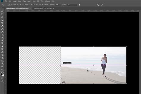 Extend Background Photoshop Photoshop Tips How To Use Content Aware Scale To Extend