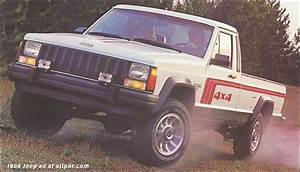 Jeep Comanche Pickup Trucks  1986