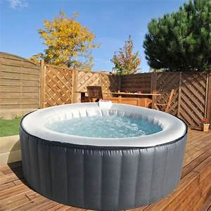 SUNBAY Spa Rond Gonflable 4 Places Achat Vente Spa