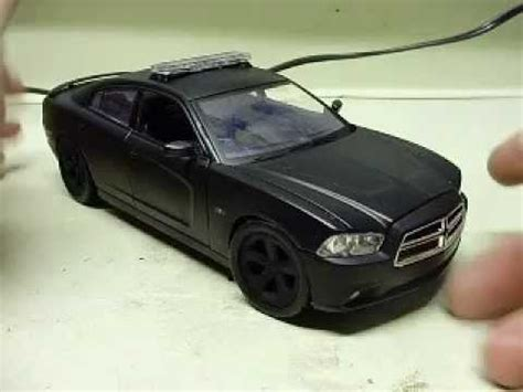 custom  scale  dodge charger unmarked police car