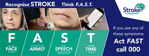 Fast Stroke Signs and Symptoms