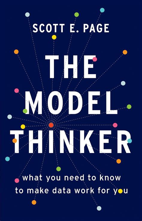 book review  model thinker       data