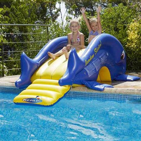 toboggan gonflable pour piscine enterr 233 e r 233 f inx58851 toboggan pictures to pin on