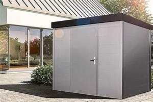 Gerätehaus Metall Flachdach : s1 ger tehaus metall uninorm technic ag ~ Michelbontemps.com Haus und Dekorationen