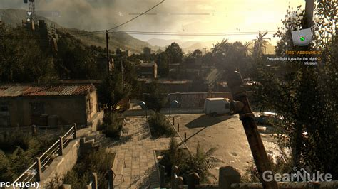 dying light pc dying light pc high low vs ps4 screenshot comparison