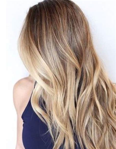 coupe cheveux blond cheveux longs balayage coiffure cheveux longs des