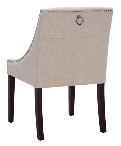lucille linen fabric dining chair from sunpan 72286