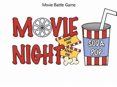 Popcorn Night Clip Clipart Movies Cliparts Ticket